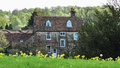 English Country Manor House Royalty Free Stock Photo