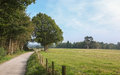English Countryside Path Royalty Free Stock Photo
