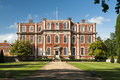 English mansion Chicheley Hall Royalty Free Stock Photo