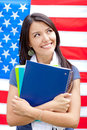 English female student Royalty Free Stock Photos
