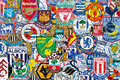 English Football Clubs Stock Image