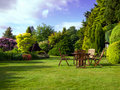English Garden Royalty Free Stock Photo