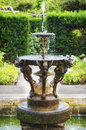 English Gargoyle Fountain Royalty Free Stock Photo