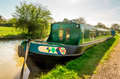 English House Boat - Alternative Vacations Royalty Free Stock Photo