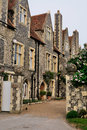 English Houses in Canterbury Stock Photo
