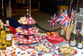 English Jubilee Tea Party Royalty Free Stock Photography