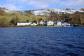 English lake district winter afternoon on windermere cumbria uk Royalty Free Stock Photography