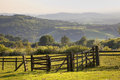 English Landscape With Gate At...