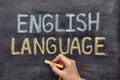 English language Royalty Free Stock Photo