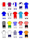 English League Kits 2011/2012 Stock Photo