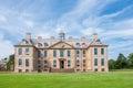 English manor from 17th century Royalty Free Stock Photo