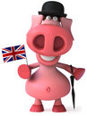 English pig Stock Image