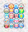 English Premier League 2012/13 Royalty Free Stock Photo