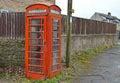 An English Red Phone Box Royalty Free Stock Photo