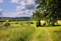 An English Rural Landscape in early Summer Stock Photos