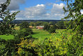 An English Rural Landscape in the Thames Valley Royalty Free Stock Images