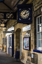English Rural Train Station Royalty Free Stock Photo