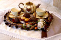 English  tea setting Stock Image