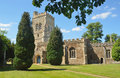 English village church st mary s henlow bedfordshire england Stock Photo