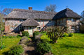 English village cottage quaint timber framed house in a rural Royalty Free Stock Images