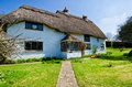 English village cottage quaint timber framed house in a rural Royalty Free Stock Photo