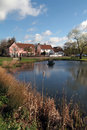 English village pond Stock Images