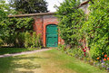 An English Walled Garden Stock Images