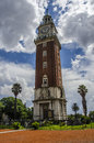 Englishmen clock tower buenos aires the and blue sky argentina Stock Photos