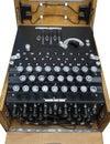 Enigma Machine Royalty Free Stock Photo