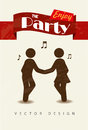 Enjoy the party Royalty Free Stock Photo