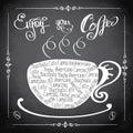Enjoy your coffee, logo or background,