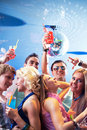 Enjoying party Royalty Free Stock Images