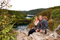 Enjoying Plitvice Royalty Free Stock Photos