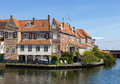 Enkhuizen houses in the netherlands the city was once one of the harbour towns of the voc Stock Image