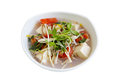 Enoki and Topu Soup Stock Photography