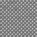 Enormous sheet of diamond plate metal see my other works in portfolio Royalty Free Stock Photography