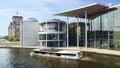 Ensemble of buildings German Bundestag. Royalty Free Stock Photo