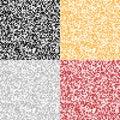 Ensemble de milieux abstraits de pixel Image stock