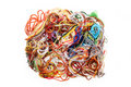 Entangled threads Stock Image
