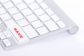 Enter for select your shopping by save button on keyboard Stock Photo