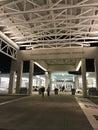 Entering Charleston International Airport Terminal