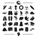 Entertainment, business, trade and other web icon in black style. menu, leisure, sport, icons in set collection.