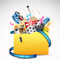 Entertainment Folder Stock Photography