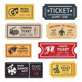 Entertainment Ticket Set