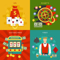 Entertainments At Casino Concept Royalty Free Stock Photo