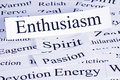 Enthusiasm Concept Royalty Free Stock Photo