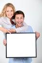 Enthusiastic couple Royalty Free Stock Photo