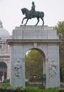 Entrace gate of victoria memorial india kolkata Royalty Free Stock Image