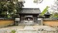 Entrace of the temple of kaidan in rinzai dazaifu fukuoka prefecture japan Stock Photo