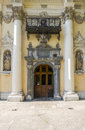 Entrace to monastery in krakow Royalty Free Stock Photo